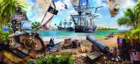 пираты, корабль