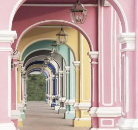 арка красочная