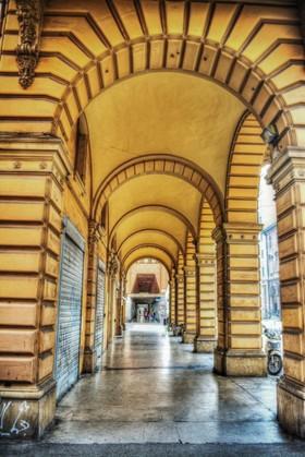 арка желтая