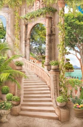 арка с лестницей