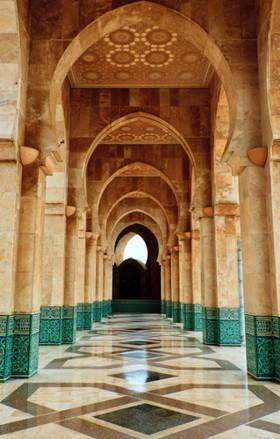 арка в мечети