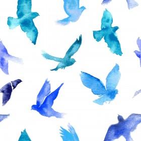 паттерн, птицы