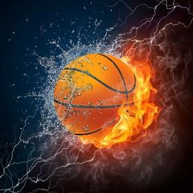 мяч, баскетбольный