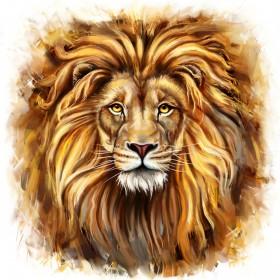 иллюстрация лев