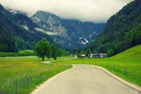 дорога в горы