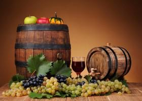 бочка вина
