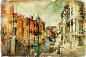 венеция, состаренное