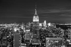 Нью-Йорк монохромный
