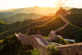 китайская стена закат