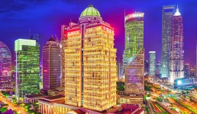 шанхай, огни города