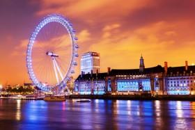 колесо обозрения, лондон