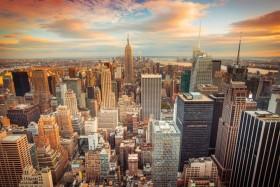 закат нью-йорк