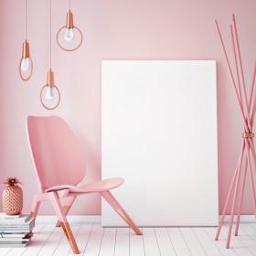 дизайн в розовых тонах