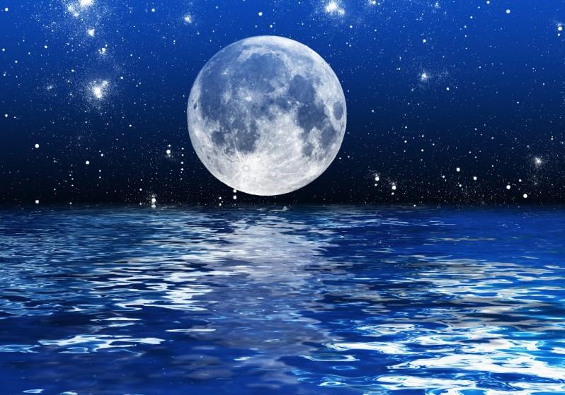 лунв, небо