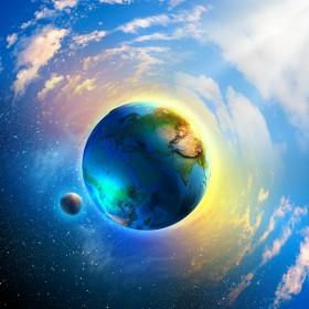 небо, земля