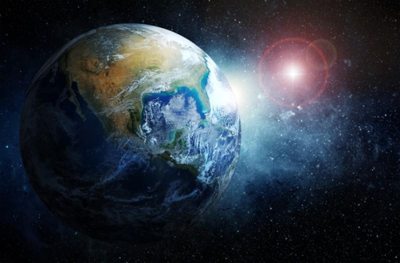 земля, звезды