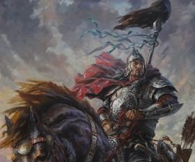 батыр на коне
