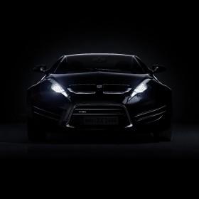 автомобиль черный