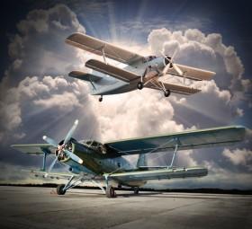 ретро самолеты