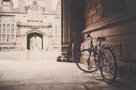 велосипед, арка