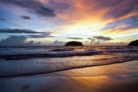 берег, волны