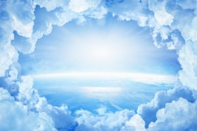 земля, облака