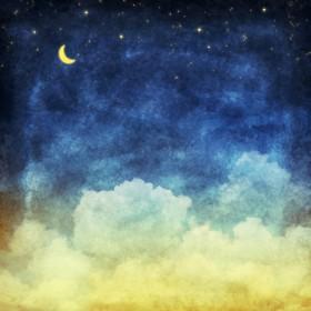 луна звезды