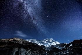 неба горы