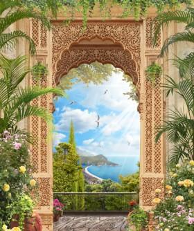 арка морской пейзаж