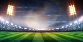 поле футбольное