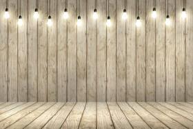 деревянный фон лампы