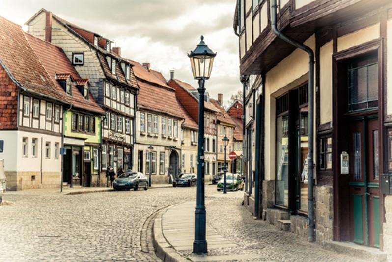 старый город Германия