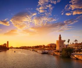 золотая башня, Испания