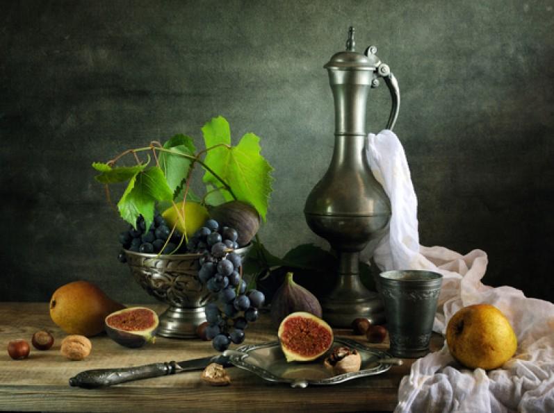 виноград, инжир