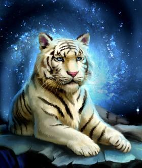 тигр иллюстрация